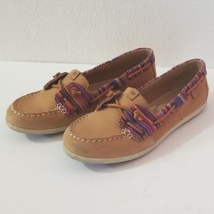Sperry Top Sliders Boat Shoes Loafers Stripe